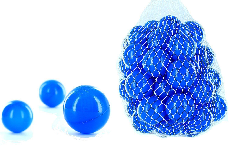 Promoción por tiempo limitado 1500 pelotas para pelotas de un baño en el color azul para niños, bebés o también Animales