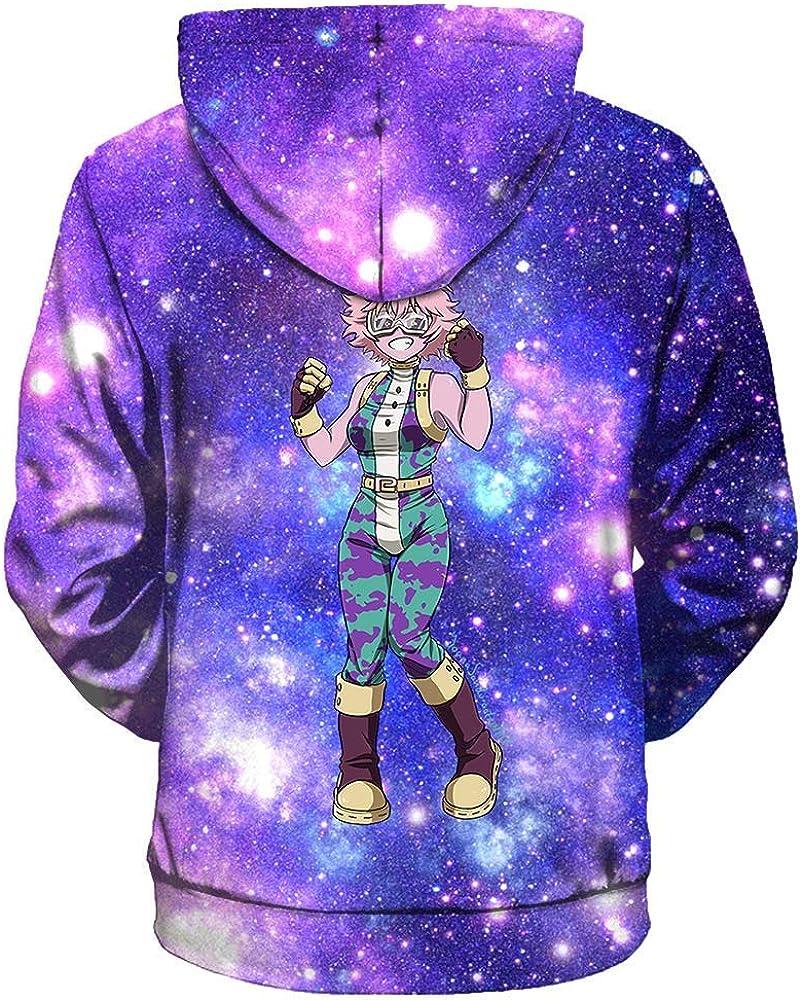 RAIN Unisex Men Women My Hero Academia Hoodie Outwear Jacket
