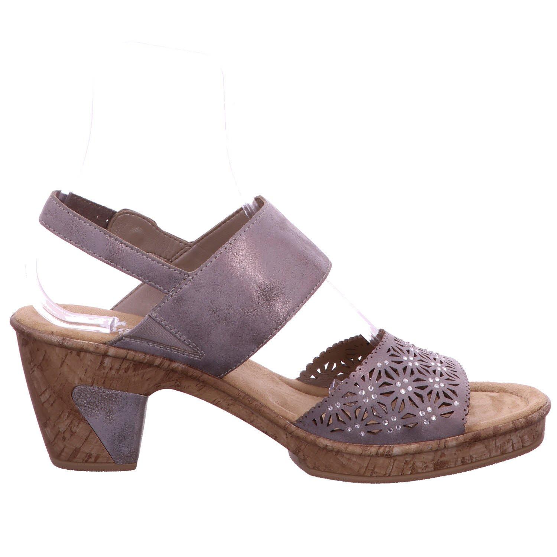 Low Block Heel 2 Strap Rieker SandalSchuhe Yb6yf7g