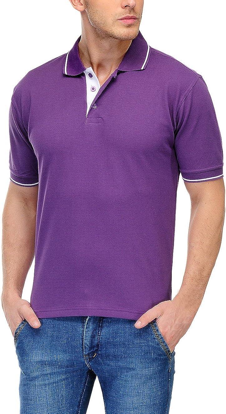Scott International Mens Polo T-Shirt XXX-Large Purple