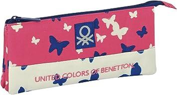 Benetton Butterfly Estuche portatodo Triple (SAFTA 811653744): Amazon.es: Juguetes y juegos