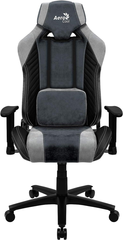 couleur bleu Chaise de jeu r/églable en hauteur Aerocool AC40C AIR technologie AIR
