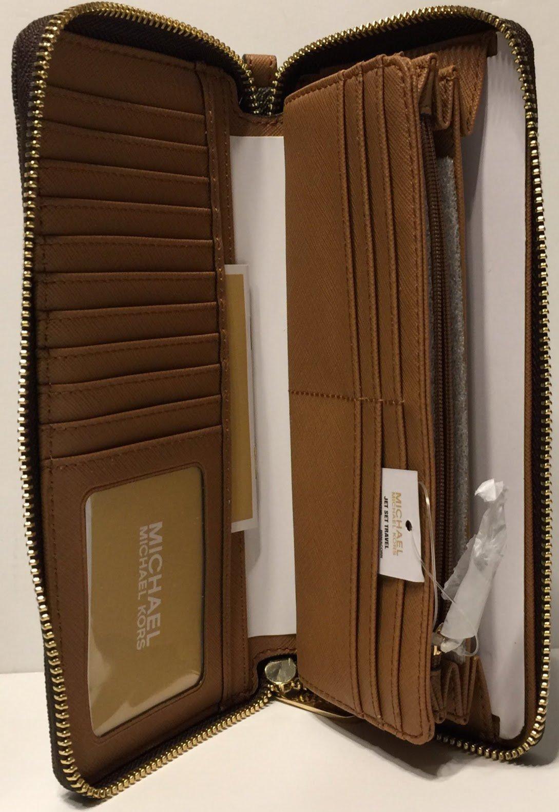 MICHAEL Michael Kors Ciara Large TZ Satchel bundled with Michael Kors Jet Set Travel Continental Wallet Wristlet (Signature MK Brown/Acorn) by Michael Kors (Image #9)