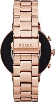 Fossil Smartwatch para Mujer con Correa en Acero Inoxidable ...