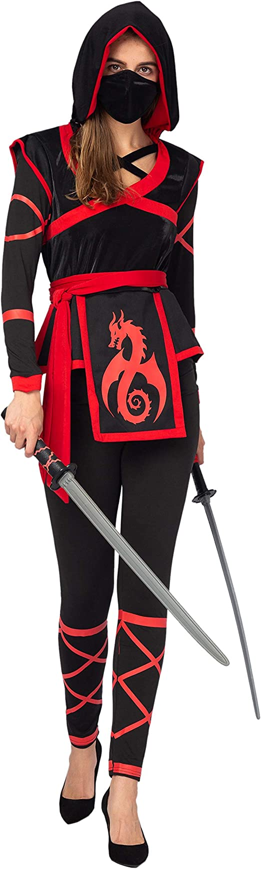 Amazon.com: Spooktacular Creations Disfraz de guerrero ninja ...