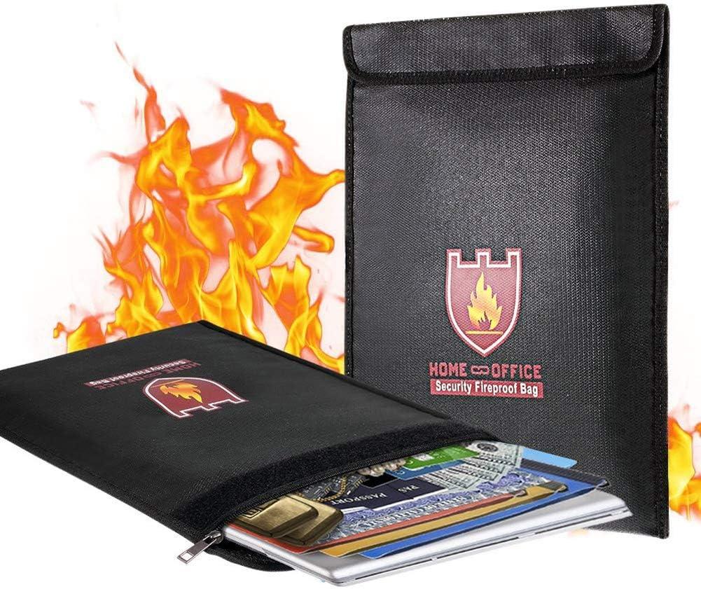 Bolsa Ignífuga Bolsa de Documentos para Fuego Archivo Resistente ...