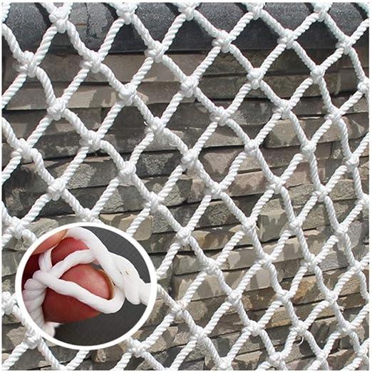 Red de Segurida,Valla de Seguridad Infantil NiñOs Mascotas Protectora ProteccióN Redes Malla Tejida,para Escaleras Barandillas Balcones BalcóN Terrazas Puertas Ventanas Pared Party Decoracion,5mm 1/5