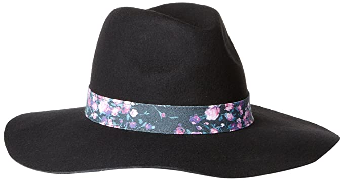 6a0a64f06c57aa Keds Women's Felt Floppy Hat, Black, One Size at Amazon Women's ...