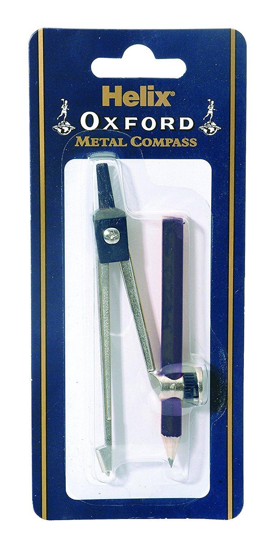 Helix Oxford Metal Compass & Pencil G05011