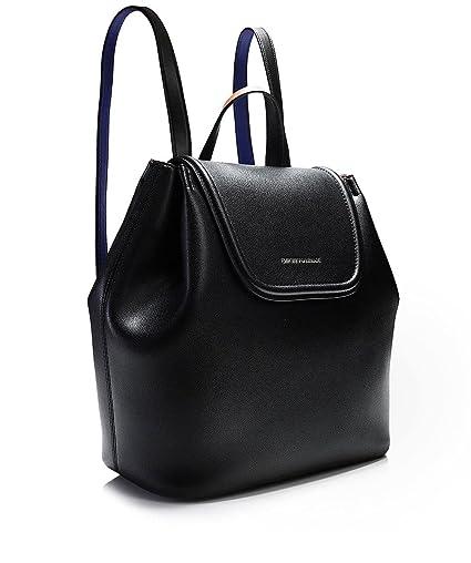 90f174744ab Emporio Armani Femmes sac à dos minimes en faux cuir taille unique Noir   Amazon.fr  Vêtements et accessoires