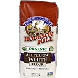 Hodgson Mill Organic Naturally White Flour, Unbleached All-Purpose, 2-Pound