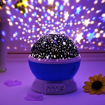 Mileeo Led Stern Himmelbeleuchtung Projektor Kinder Sternenhimmel