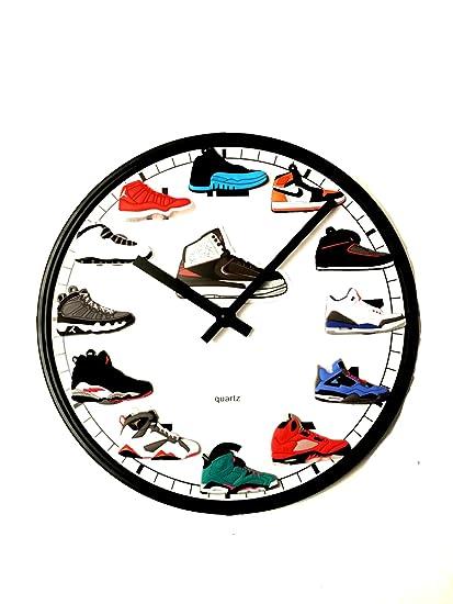 a82681367bdc Jordan Retro 1-12 (3-D) Wall Clock  Amazon.ca  Home   Kitchen