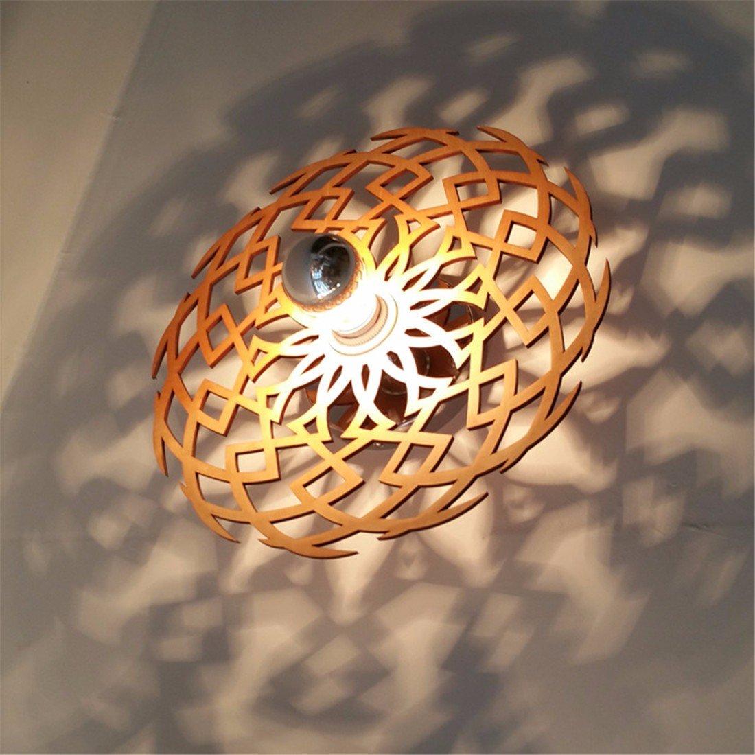 T-ZBDZ Wandlampe des modernen Wohnzimmers hölzerne Wandlampe, hölzerne Wandlampe, C-Abschnitt