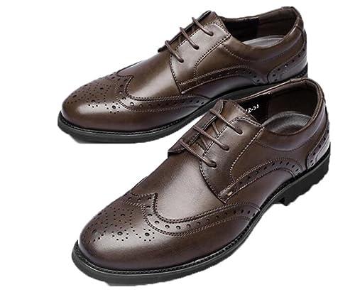 Baja Hombre Primavera Lwjh Zapatos De Boca Cuero Brock srtQCdBhx