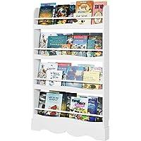 Homfa Librería Infantil para Niños Estantería de Pared