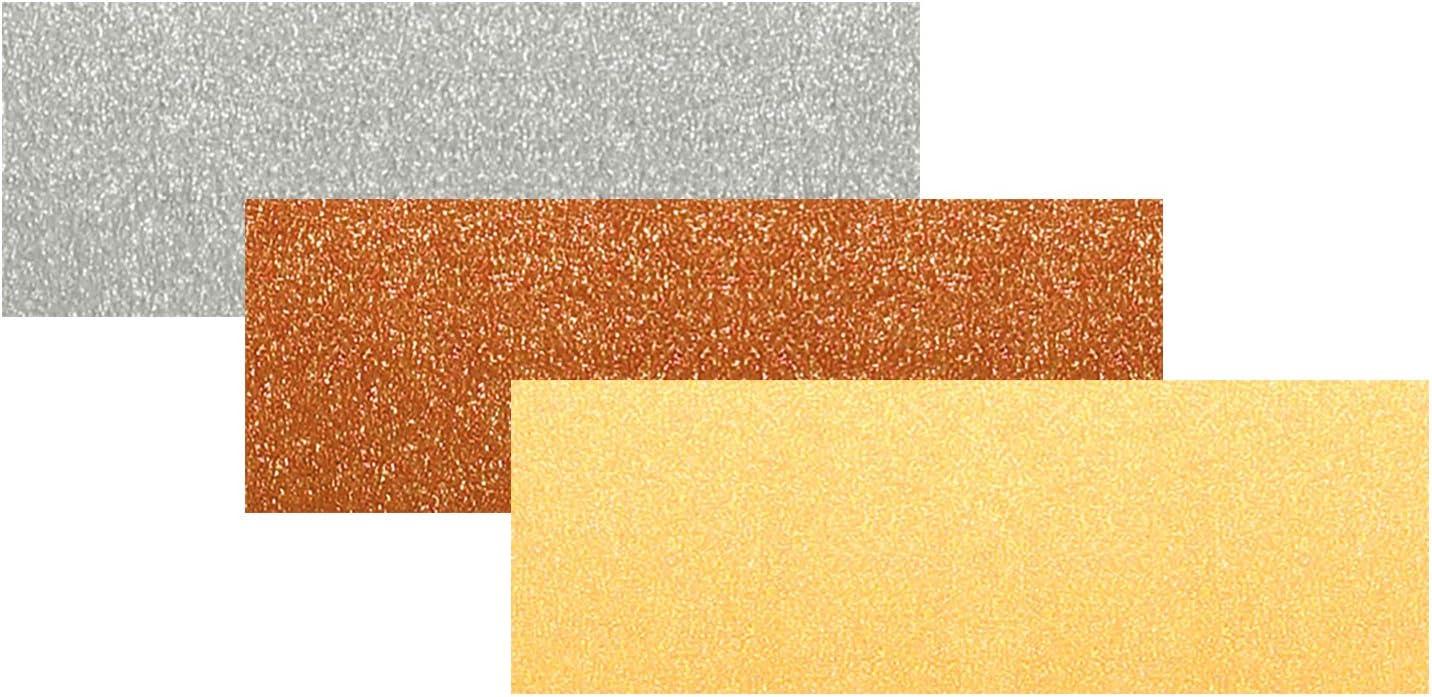 Copper//Gold//Silver Matt Ursus Coloured Paper DIN A4/130/g 20/Sheets 3/Designs