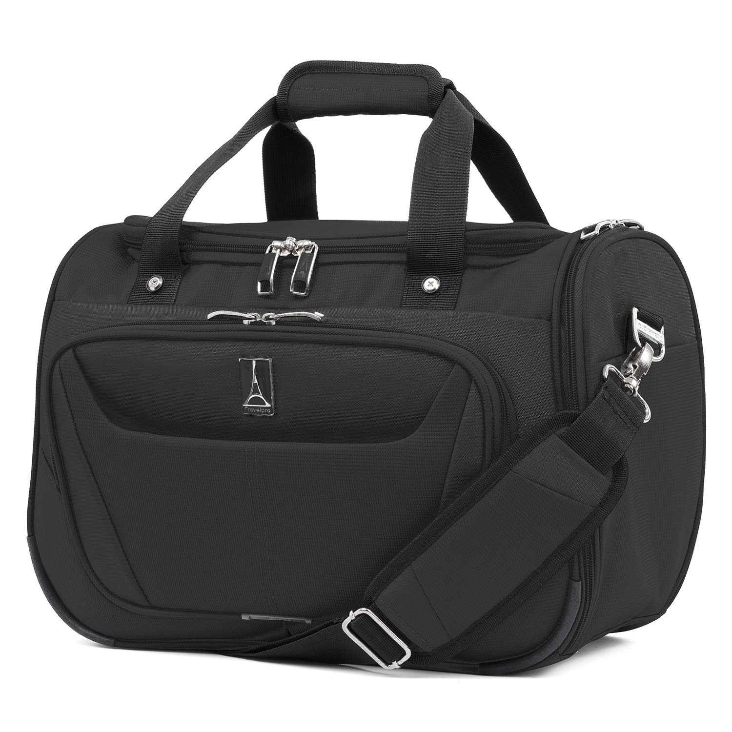 Travelpro Luggage Maxlite 5 18'' Lightweight Carry-on Under Seat Tote Travel, Black, One Size by Travelpro