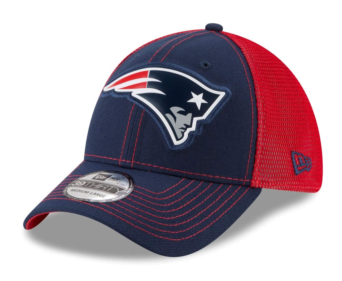 New Era New England Patriots Halfzip Hoody Camo Collection