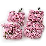 144pc Beautiful Artificial Paper Rose Flower