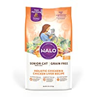 Halo Natural Dry Cat Food, Sensitive Stomach Seafood Medley