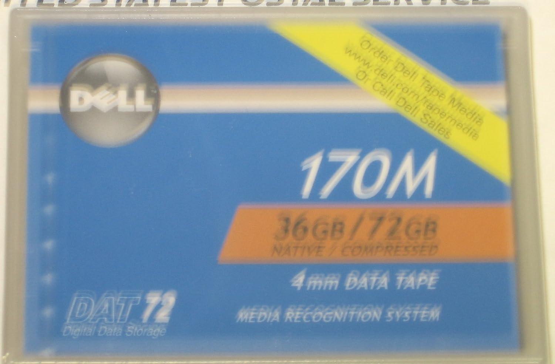 Brand New Dell 170M 36GB//72GB 4mm Data Tape Cartridge DAT72 Digital Data