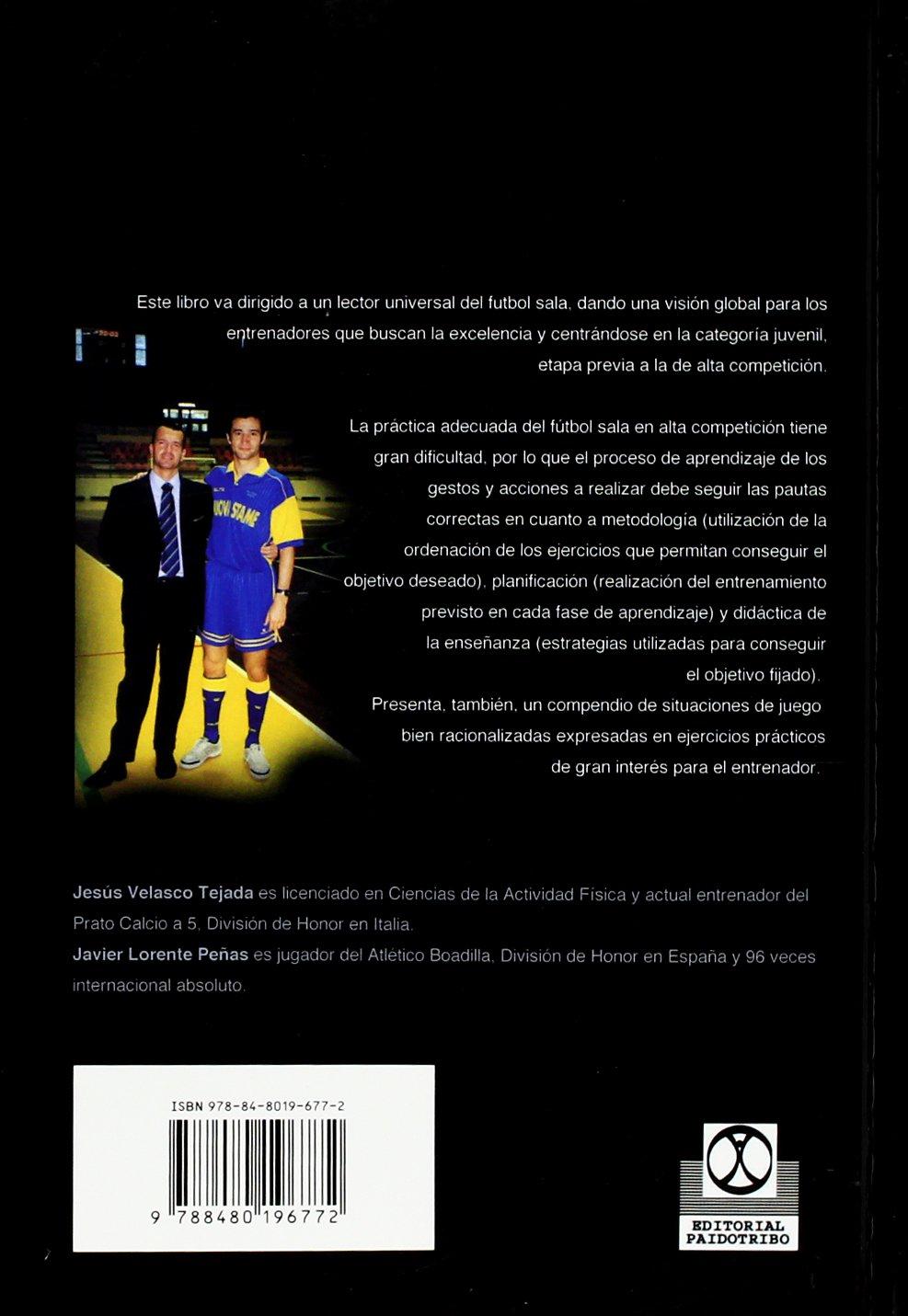 Entrenamiento de Base En Futbol Sala (Spanish Edition): Ricardo Canovas Linares: 9788480196772: Amazon.com: Books