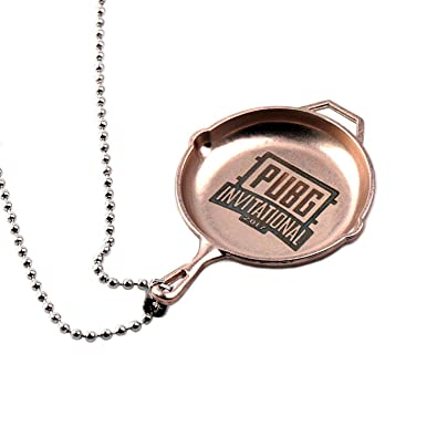 Pubg Pan Playerunknowns Battlegrounds Keychain Ring Necklace Pendant Gift Necklace