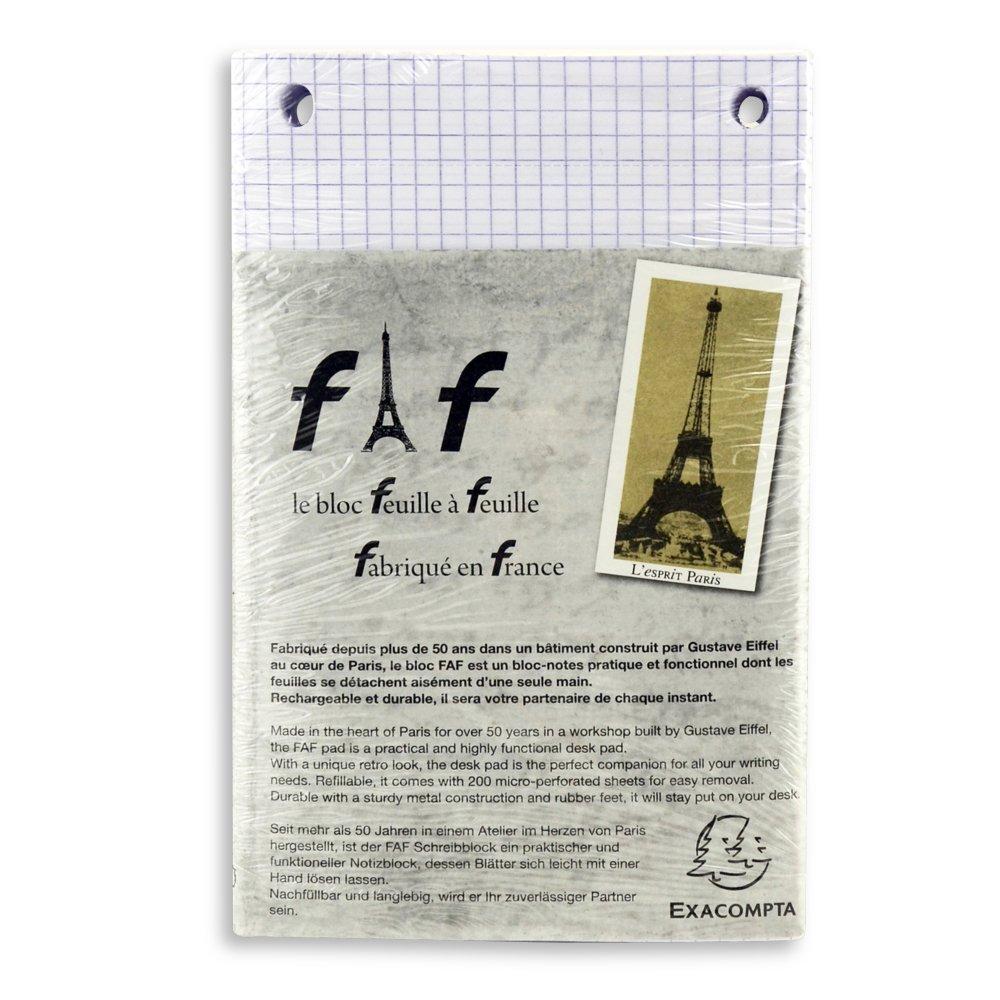 Exacompta Faf Desk Refill Pad Only No.3 Graph
