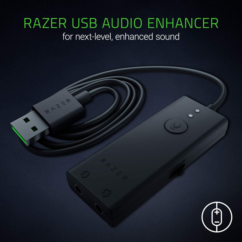 NB Razer IFRIT Streaming Headset with Razer USB Audio Enhancer