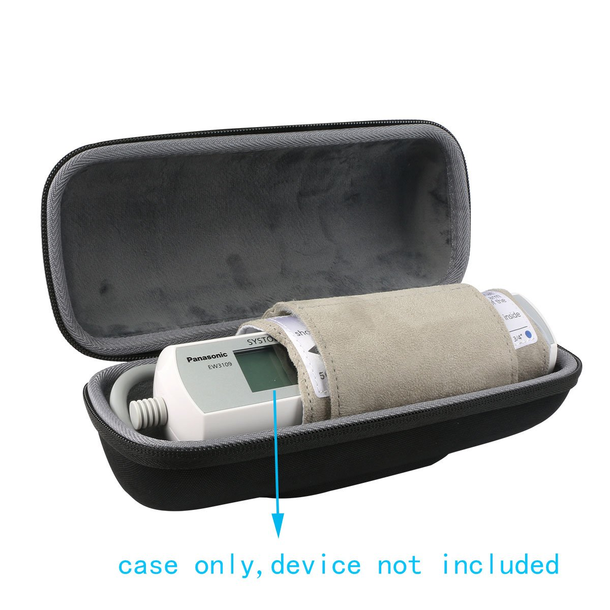 for Panasonic Portable Upper Arm Blood Pressure Monitor Hard Case fits EW3109W by co2CREA