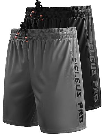 fd118ccf2e0d9 Neleus Men's Lightweight Workout Running Athletic Shorts with Pockets