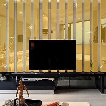 Amazon.com: Ferris Store 10pcs Modern 3D Acrylic Long Rectangle ...