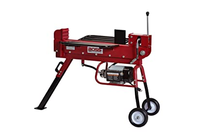 Boss Industrial ED10T20 Industrial Electric Log Splitter, 10-Ton on