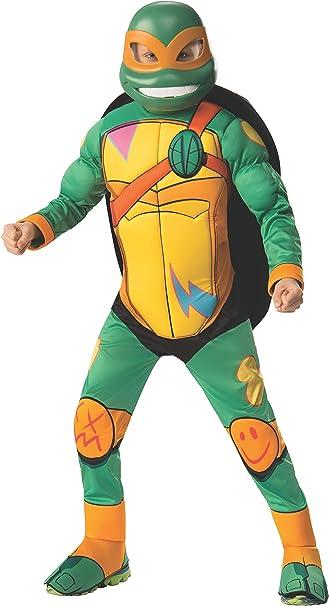 Deluxe Michaelangelo Ninja Turtles Boys Costume