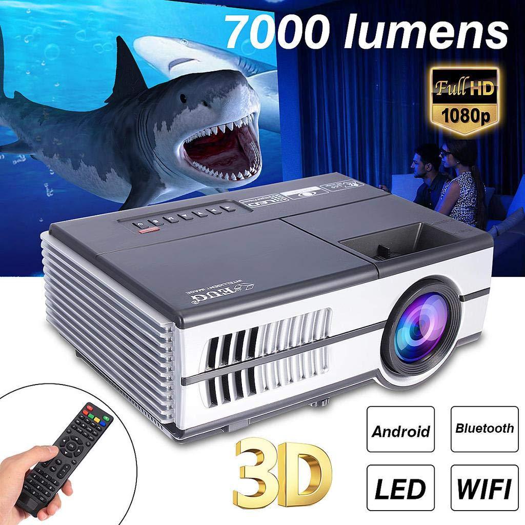Desconocido FJHJB 7000 lúmenes 3D 1080P HD LED de Cine en casa ...