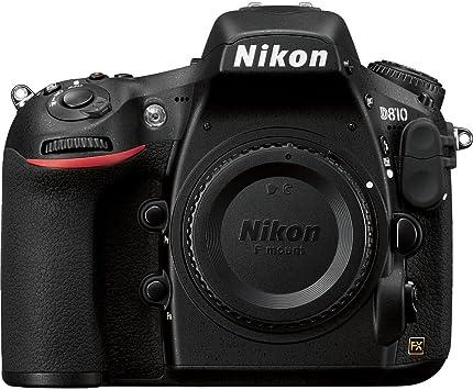 Nikon D810 FX-Format Digital SLR Camera Body, [Importado de UK ...