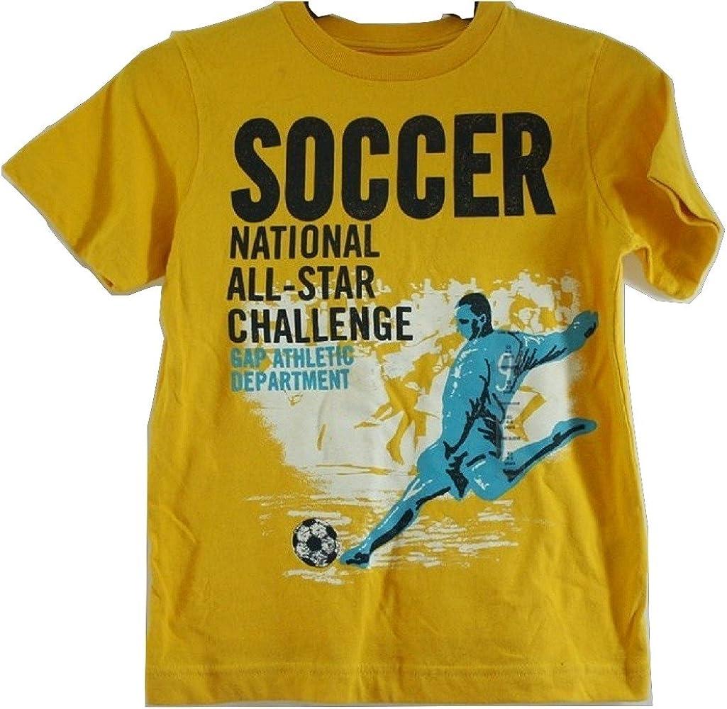 Boy s Gap amarillo Graphic camiseta de manga corta de algodón – Edad 4 – 5 [Apparel] Amarillo amarillo 4 años: Amazon.es: Ropa y accesorios