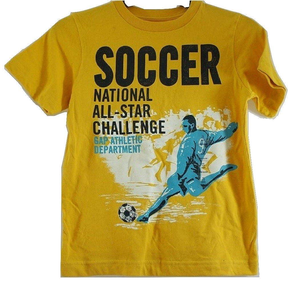 Gap Boy s amarillo Graphic camiseta de manga corta de algodón - Edad 4 - 5 [Apparel] Amarillo amarillo 4 años: Amazon.es: Ropa y accesorios