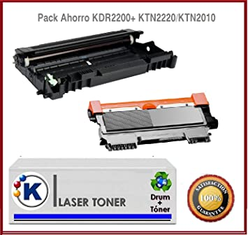 TAMBOR PACK TONER + TAMBOR Brother DCP7065DN: Amazon.es: Electrónica