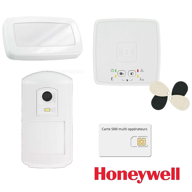 Kit de alarma inalámbrica GSM GPRS/Honeywell el azúcar-Kit ...