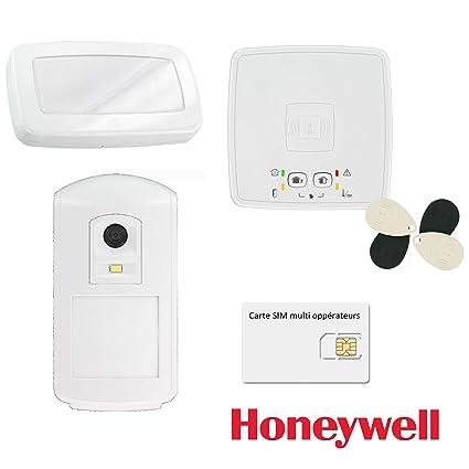Kit de alarma inalámbrica GSM GPRS/Honeywell el azúcar-Kit de 4