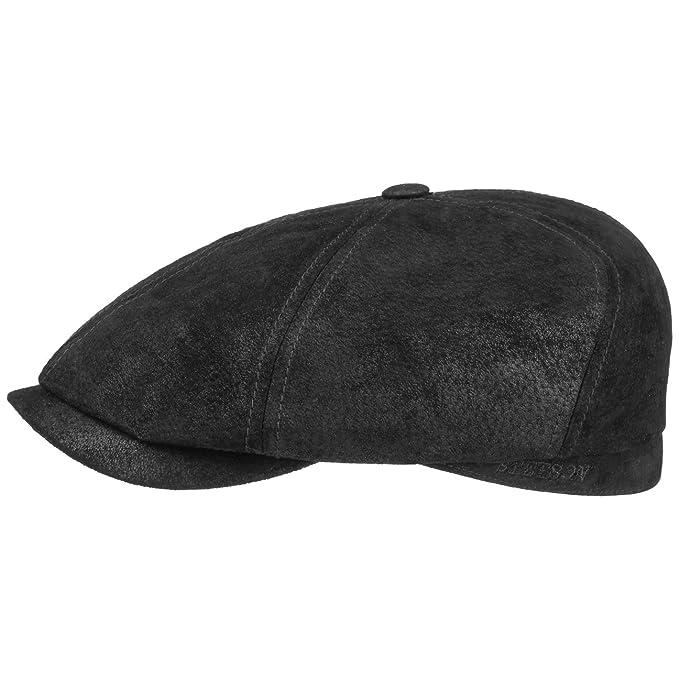 Gorra Gatsby de Piel Lanesboro by Stetson gorra de pielpiel natural gorra  de piel  Amazon.es  Ropa y accesorios 94c5d8011e0