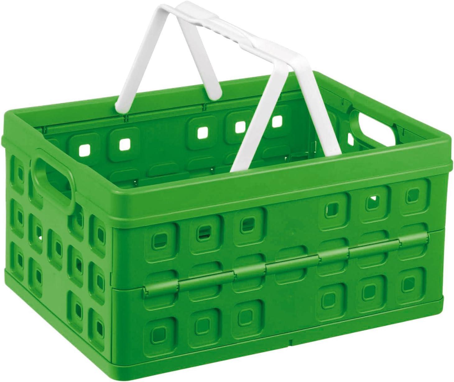Sunware 57100661 - Caja de almacenaje (Plegable, con asa, 32 L): Amazon.es: Hogar