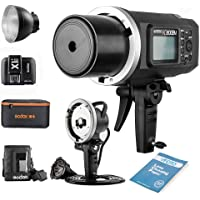 Godox AD600BM Bowens Mount Manual Versión Aire Libre Flash+ X1T-N transmisor+ Ad-h600b +CB-09 para Nikon D800 D700 D7100…