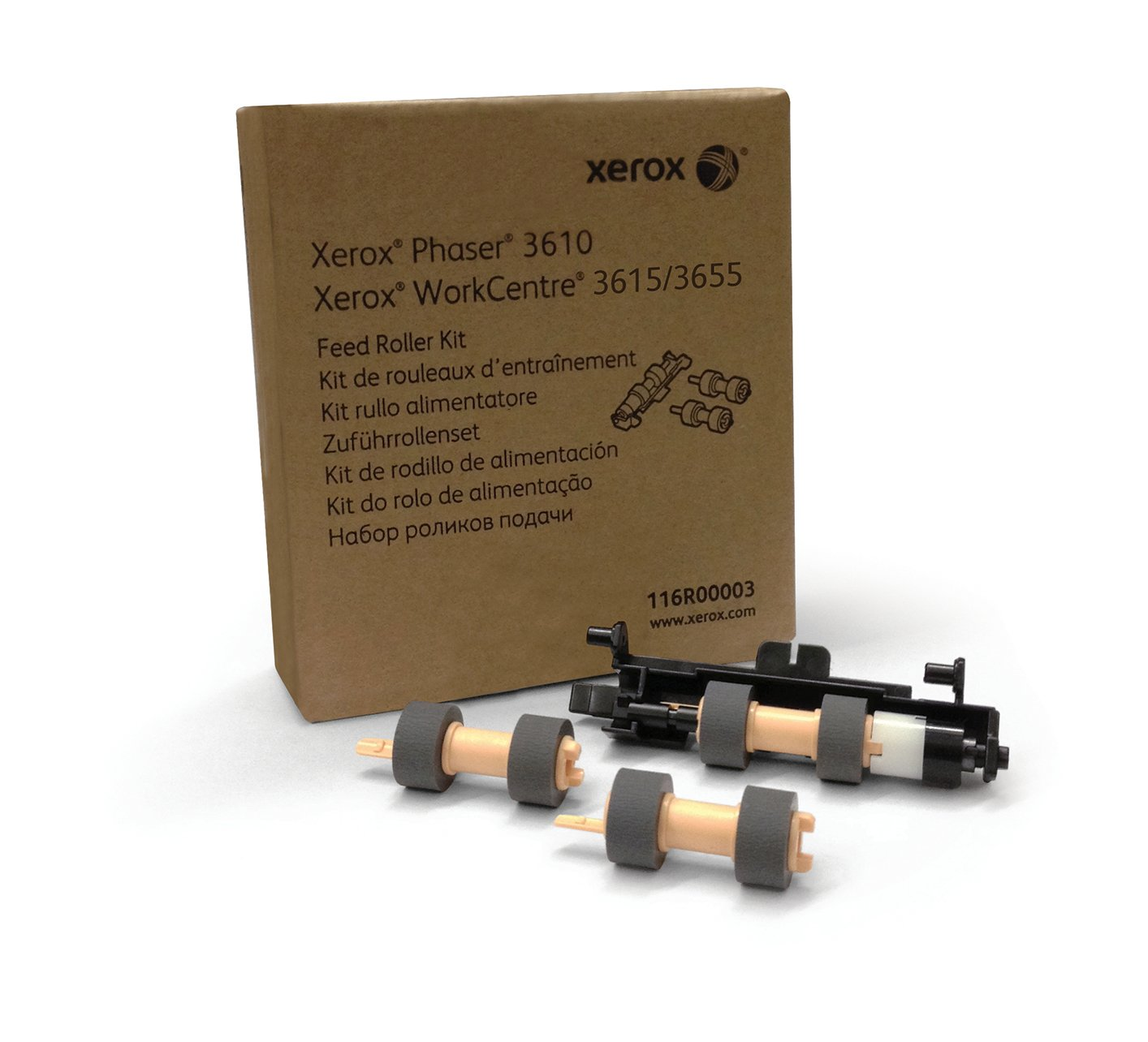 Genuine Xerox Paper Feed Roller Kit for the Xerox Phaser 3610 or WorkCentre 3615, 116R00003 by Xerox (Image #2)