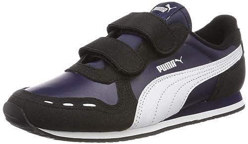 Puma Cabana Racer SL Unisex Kinder Sneakers: Schuhe