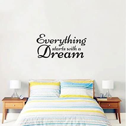 bedroom wall stickers quotes