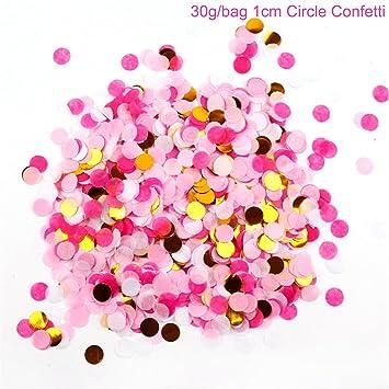 Amazon.com: Globo de confeti dorado para boda, cumpleaños ...