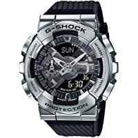 Casio G-Shock GM-110-1ADR Metal Face Men's Digital-Analog Wrist Watch